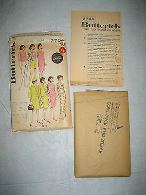 Vintage Butterick Sets Sewing Pattern No. 2704 - Size 14 Bust 34 - UNUSED