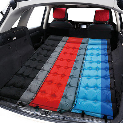 Heavy Duty Car SUV Travel Inflatable Mattress Back Seat Camping Air Bed