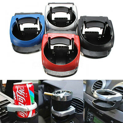 Vehicle Car Accessorie Water Bottle Can Drink Cup Holder Stand Kit Clip