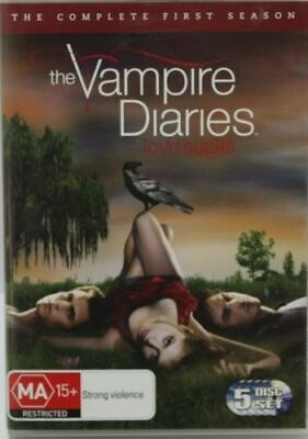 THE VAMPIRE DIARIES SEASON ONE  Ian Somerhalder  5-Disc Set  DVD R4 PAL