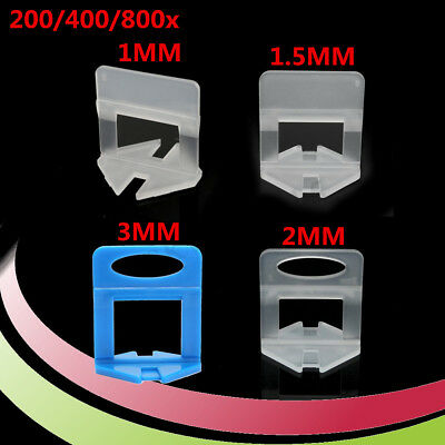 200/400/800PCS Tile Leveling System Levelling Clips For Wall Floor Tile Spacer