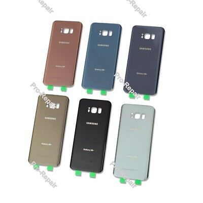 Samsung Galaxy S8 / S8+ OEM Battery Back Door Glass Housing Cover Replacement