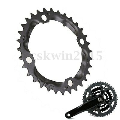 Carbon Steel Single Narrow Wide 9 Speed Bike MTB Bicycle Chain Ring 32T Black