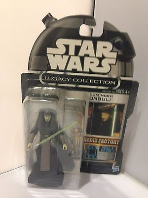 Star Wars Legacy Collection Droid Factory Cancelled Luminara Unduli Jedi MOC