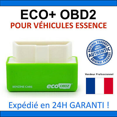 ECO OBD2 Fuel Economy Chip Tuning Box Interface Plug & Drive Pour ESSENCE Cars