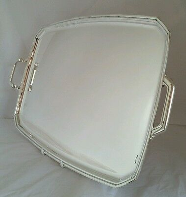 A George Vl sterling silver Tray .Sheffield 1942. By Frank Cobb