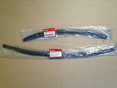 Genuine Honda Crz Front Wiper Blade Set 2011 - 2016