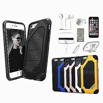 Shockproof TPU Case Cover Screen Protector Accessory Kit For iPhone 7 7 Plus