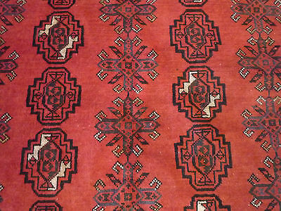 "A good Afghan oriental carpet   (  12ft.7"" x 8ft.8"" )"