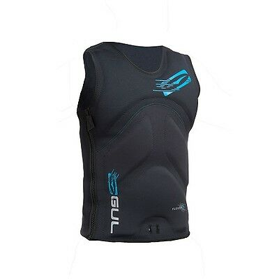 Gul 2017 Flexor Iii Vest Protection Wakeboarding Waterskiing Black
