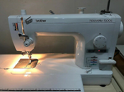 Brother Nouvelle Pq1500s High Speed Quilting And Sewing