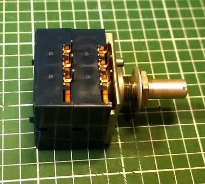 Alps RK27 audio potentiometer, 10k, `blue velvet`, original Japan, new, UK stock