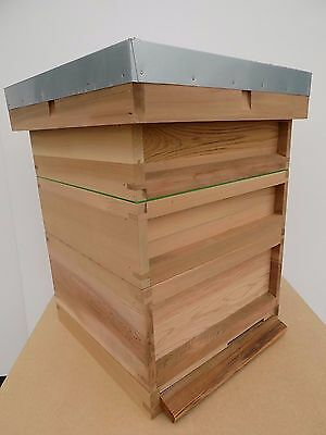 Western Red Cedar National Bee Hive