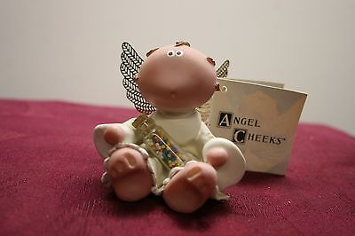 Russ Berrie Angel Cheeks Candy Bottle Limited Collectible