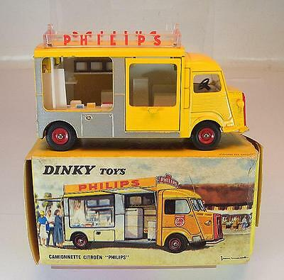 Dinky Toys France 587 Citroen HY 1200 K Philips original Vintage in O-Box #5361