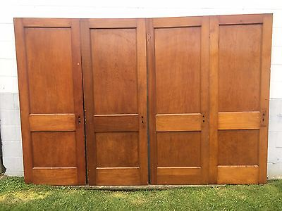 4 Antique Pine 2 Flat Panel Interior Sliding Barn Pinterest Wood Doors - Pickup