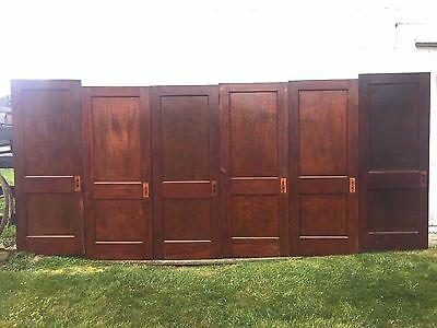 "6 Antique Pine 2 Flat Panel Interior Sliding Barn Pinterest Wood 30"" Door Pickup"