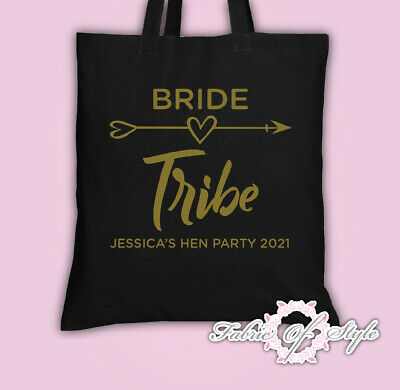 Hen Do Party Bride Tribe 2019 Custom Personalised Ladies Tote Bags