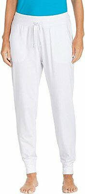 Coolibar UPF 50 Women's Weekend Pants Sun Protective X-Small- Bright White, New