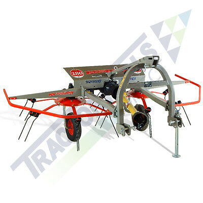 Terra 3 Point Hay Tedder for Compact Tractors - Shipping only $249
