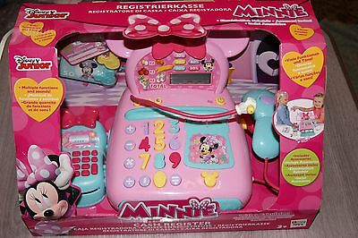 Disney Minnie Mouse Electronic Cash Register Imc Toys 181700 Brand New Boxed!