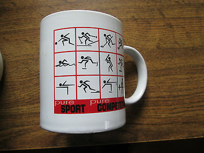 Canada Special Olympics Pure Sport Pure Competition Collectible Coffee Mug