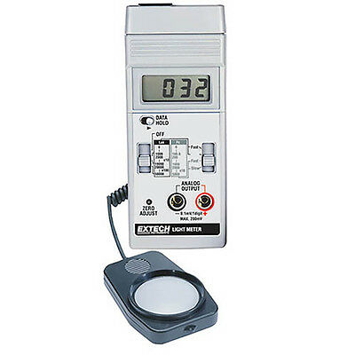 Extech 401025 Light Meter, Foot Candle/LUX Meter