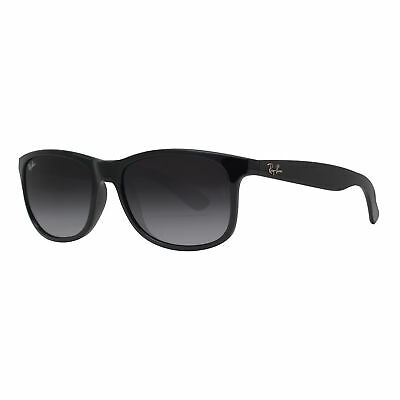 Ray Ban RB4202 601/8G 55mm Andy Black Grey Gradient Square Sunglasses