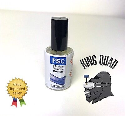 ELECTROLUBE - EFSC15ML - CONFORMAL SILICONE COATING  (Quad Drone Water Proofing)