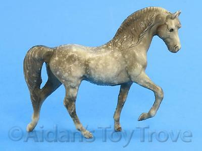 Breyer Stablemates Model Horse - 5010 Dapple Grey Morgan Stallion Old Plastic G1