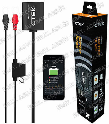 Ctek Batteria Sense IPHONE App Bluetooth 12v Batteria Auto Monitor Sistema