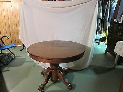 Antique American Claw Foot Table