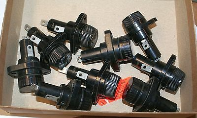 LOT 9 NEW BUSS PANEL MOUNT FUSE HOLDERS see text jt + FREE STUFF