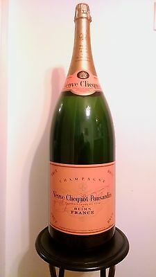 SEALED Veuve Cliquot Yellow Label 12L champagne display bottle collector