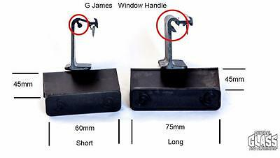 Sliding window handle catch G James old + new sliding window - non-keyed