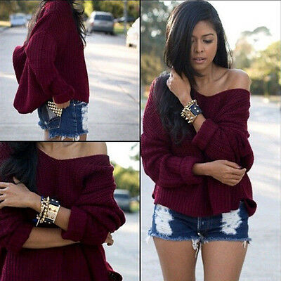 Fashion Women Ladies Summer Loose Casual Cotton Long Sleeve Sweater Tops Blouse