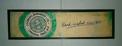 Coopers Beer Original Pale Ale Bar Runner rubber backed for home bar collector