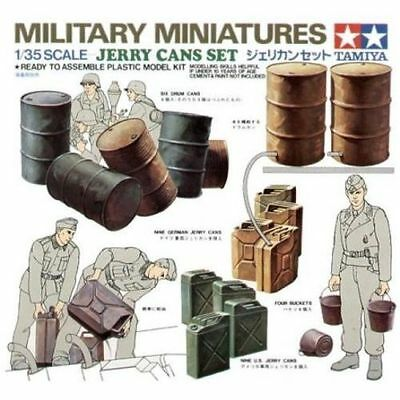 Tamiya 35026 1/35 Military Miniatures Jerry Cans Set from Japan Rare