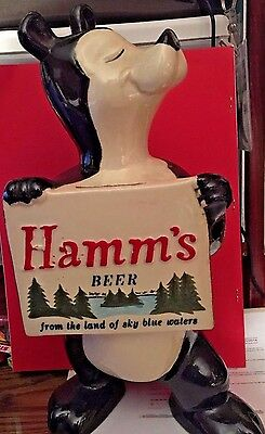 1950's Red Wing Pottery: Hamms Bear Bank