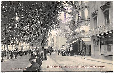 11-Narbonne-Cafe Continental-N°R2040-H/0029