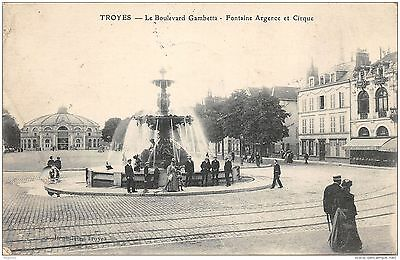 10-Troyes-Boulevard Gambetta-Fontaine Argence-N°R2040-G/0313