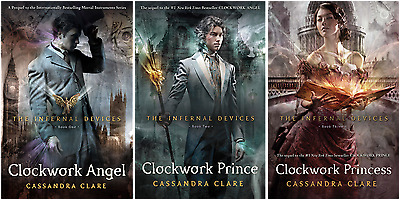 The Infernal Devices series by Cassandra Clare-audiobook-mp3