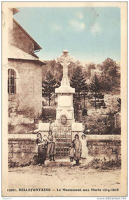 39-Bellefontaine-Monument Aux Morts-N°R2042-H/0111