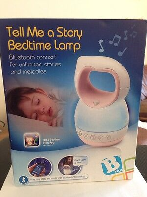 B Kids Infant into Tell Me A Story Bedtime Lamp - Brand New 1st Class Delivery