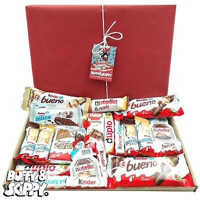 KINDER Mix Chocolate Sweet Hamper Selection Gift Box Present BirthdayTreat Xmas