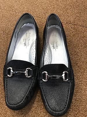 Russell Bromley Ladies Shoes Size Uk 8 In Black Leather