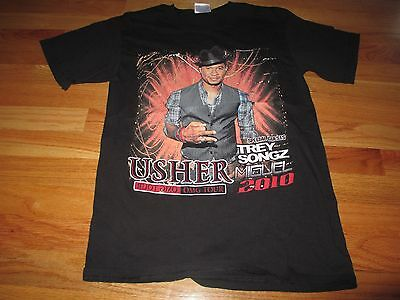 2010 USHER with TREY SONGZ MIGUEL Concert Tour (SM) T-Shirt