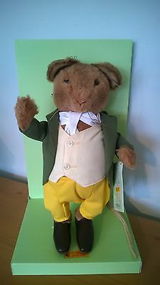 Steiff Beatrix Potter Samuel Whiskers Ean 662393 with box Free UK Postage!.