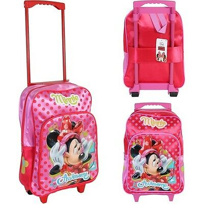 Cart rucksack large pvc minnie - assorted colors