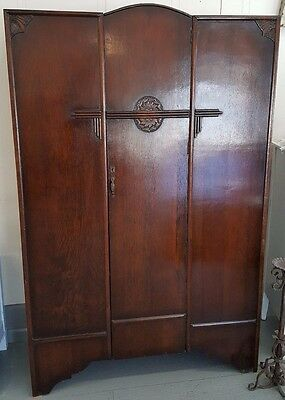 Vintage Armoire/Wardrobe made in Great Britain